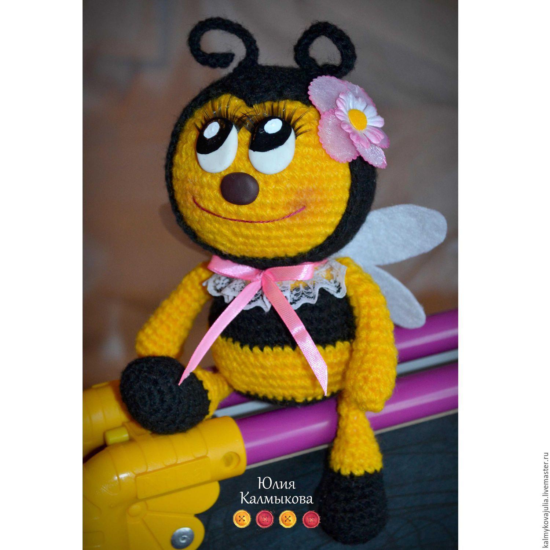 Вязанная пчела мастер класс фото