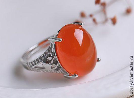 Кольца ручной работы. Ярмарка Мастеров - ручная работа. Купить Кольцо с природным агатом. Handmade. Агат, кольцо, серебро