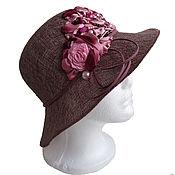 Аксессуары handmade. Livemaster - original item Hat WINTER CHERRY. Handmade.