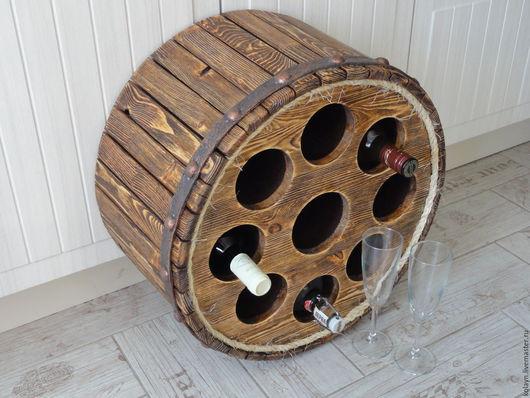 """Мебель ручной работы. Ярмарка Мастеров - ручная работа. Купить Бочка для хранения вина """"Колесо фортуны"""". Handmade. Древесина сосны"""