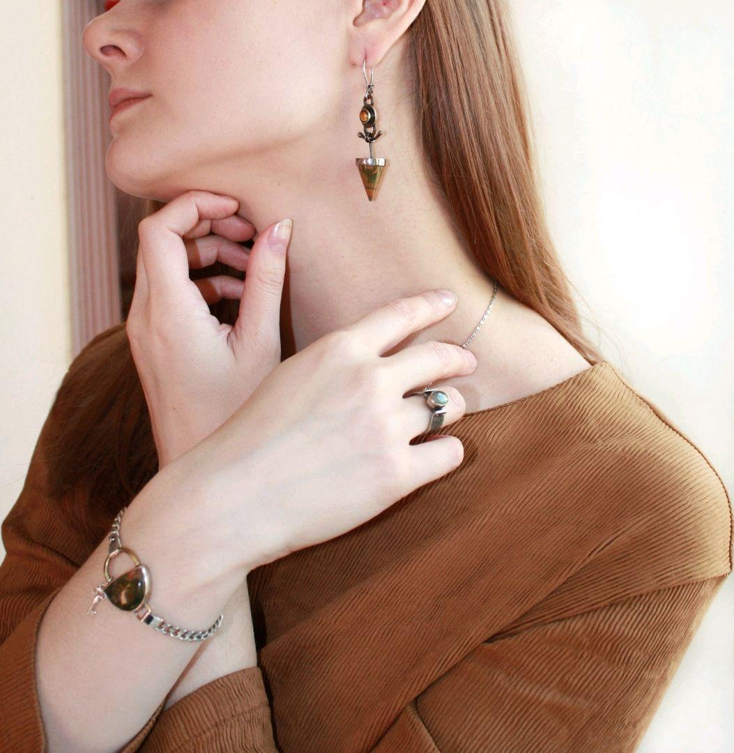 Earrings Cone, Earrings, Nizhny Novgorod,  Фото №1