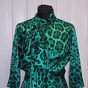 """Одежда ручной работы. Ярмарка Мастеров - ручная работа Платье """"Зеленый леопард"""". Handmade."""