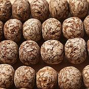 Материалы для творчества ручной работы. Ярмарка Мастеров - ручная работа Бусины, семена махогона, 10 мм. Handmade.