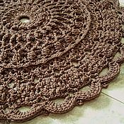 Для дома и интерьера handmade. Livemaster - original item Knitted Mat of cord DREAM-2. Handmade.