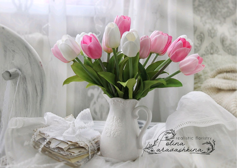 Тюльпаны букет, Букеты, Шахты,  Фото №1