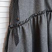 Одежда handmade. Livemaster - original item Skirt style boho wool