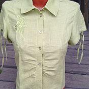Одежда handmade. Livemaster - original item Blouse linen. Handmade.