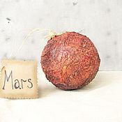 Подарки к праздникам ручной работы. Ярмарка Мастеров - ручная работа Шарик-планета в коробке Марс. Handmade.