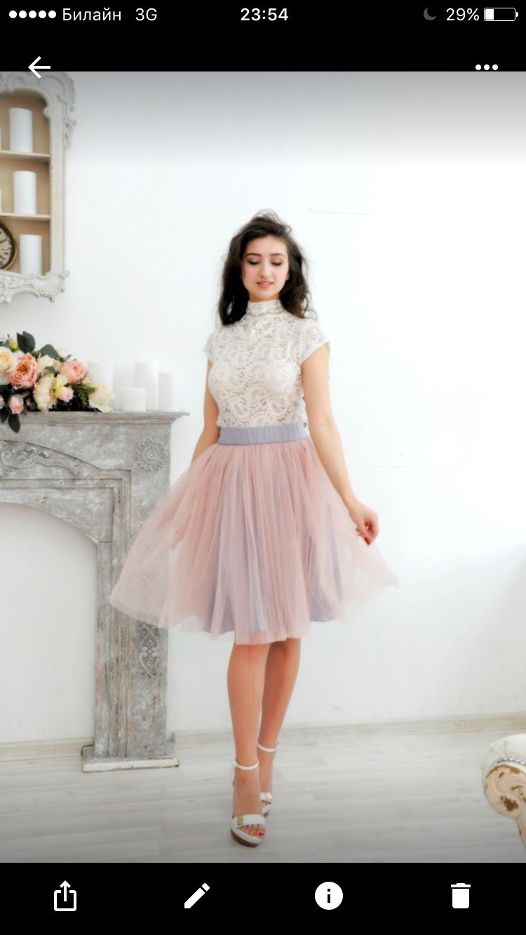 Балерина юбка из фатина