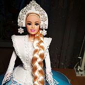 Ночники ручной работы. Ярмарка Мастеров - ручная работа Ночники: Кукла светильник. Handmade.