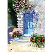 Картины и панно handmade. Livemaster - original item Oil painting summer landscape