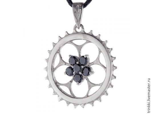 Велозвездочка, вариант с камнями