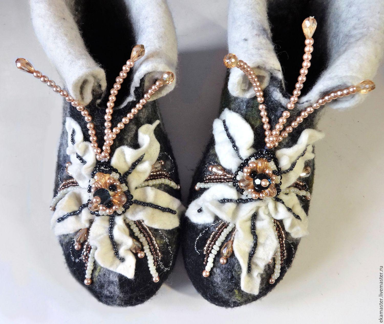 Home Slippers 'Elegant age-2', Slippers, Ekaterinburg,  Фото №1