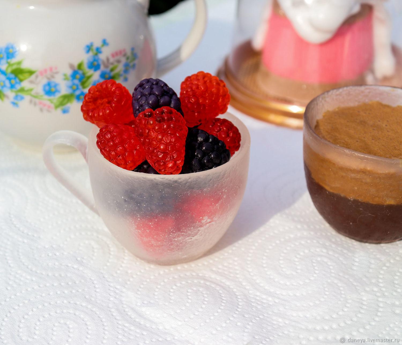 """Мыло ручной работы """"Чашка с ягодами"""", Арома сувениры, Москва,  Фото №1"""