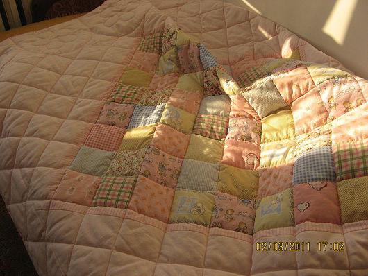 """Текстиль, ковры ручной работы. Ярмарка Мастеров - ручная работа. Купить одеяло """"Сладкий сон"""". Handmade. Эксклюзивный подарок"""