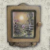 Для дома и интерьера ручной работы. Ярмарка Мастеров - ручная работа Ключница  Лесная сказка. Handmade.