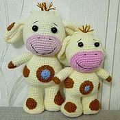 Куклы и игрушки ручной работы. Ярмарка Мастеров - ручная работа Tiny love. Развивающие игрушки Тини Лав Коровка Собачка Барашек. Handmade.