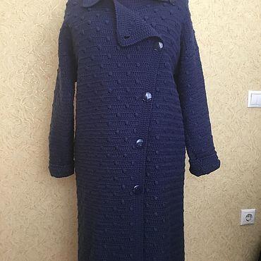 Одежда ручной работы. Ярмарка Мастеров - ручная работа Пальто: осеннее небо. Handmade.
