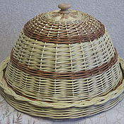 Для дома и интерьера ручной работы. Ярмарка Мастеров - ручная работа Хлебница из лозы. Handmade.