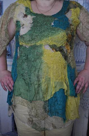Блузки ручной работы. Ярмарка Мастеров - ручная работа. Купить Блузка Весеннее настроение. Handmade. Большой размер, блузка