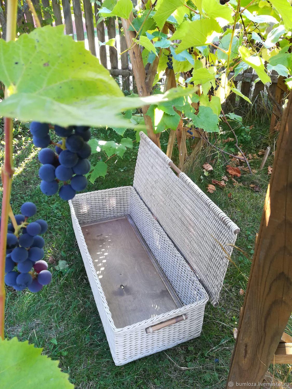 Плетёная корзина короб для хранения, Короб, Ногинск,  Фото №1