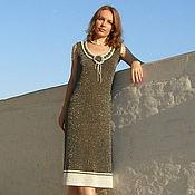 """Одежда ручной работы. Ярмарка Мастеров - ручная работа Вязаное платье """"Селена"""". Handmade."""