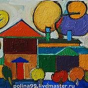 Картины и панно ручной работы. Ярмарка Мастеров - ручная работа картина маслом. Handmade.