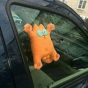 Приколы ручной работы. Ярмарка Мастеров - ручная работа Рыжий кот Саймона, веселый рыжулька). Handmade.
