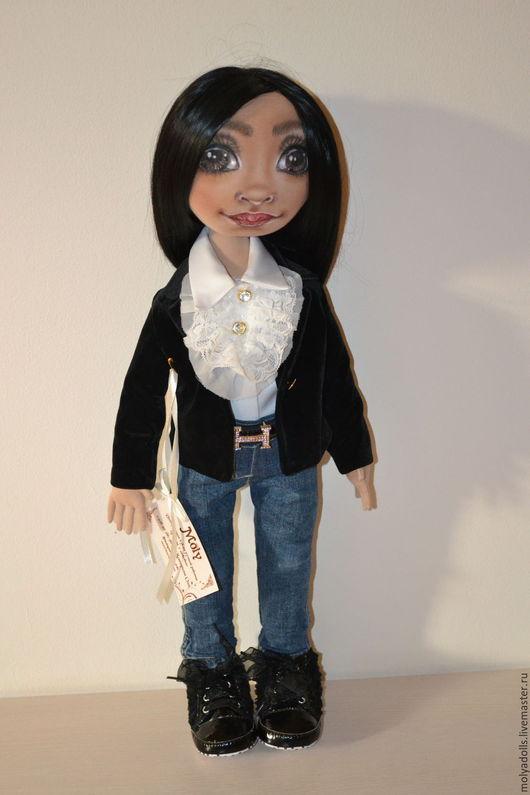 Портретные куклы ручной работы. Ярмарка Мастеров - ручная работа. Купить Текстильная кукла с портретным сходством. Handmade. Комбинированный
