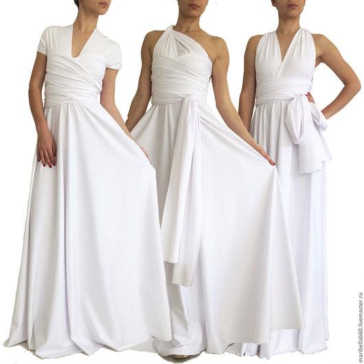 Одежда и аксессуары ручной работы. Ярмарка Мастеров - ручная работа. Купить свадебное платье трансформер для невесты Вечернее платье ORCHIDEA. Handmade.