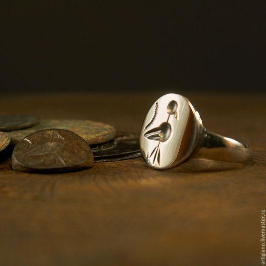 Кольца ручной работы. Ярмарка Мастеров - ручная работа. Купить Кольцо с птицей. Handmade. Серебряный, славянский оберег, птица