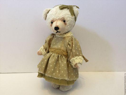 Мишки Тедди ручной работы. Ярмарка Мастеров - ручная работа. Купить Марта. Handmade. Мишка, мишка из вискозы, старая игрушка