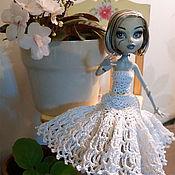 Куклы и игрушки ручной работы. Ярмарка Мастеров - ручная работа Свадебная мода для кукол Monster High (МонстрХай). Handmade.