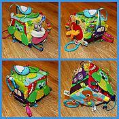 Куклы и игрушки ручной работы. Ярмарка Мастеров - ручная работа Развивающий кубик 10на10. Handmade.