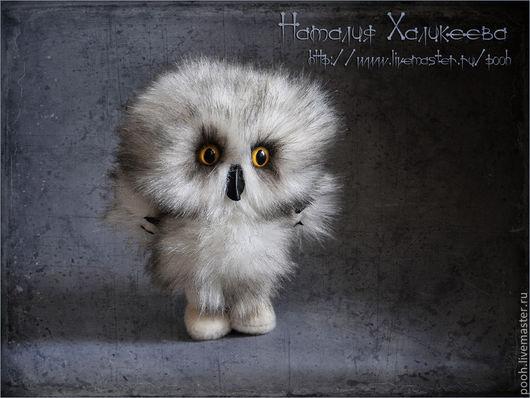 """Мишки Тедди ручной работы. Ярмарка Мастеров - ручная работа. Купить Коллекционный совенок """"Ух"""". Handmade. Сова игрушка"""