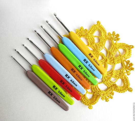 Вязание ручной работы. Ярмарка Мастеров - ручная работа. Купить Набор крючков 2.5 - 6 мм для вязания 8 штук. Handmade.