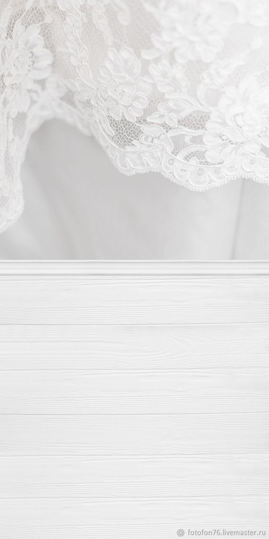 Фотофон виниловый Кружево (пол/стена) 50х100 см, Фото, Ярославль,  Фото №1