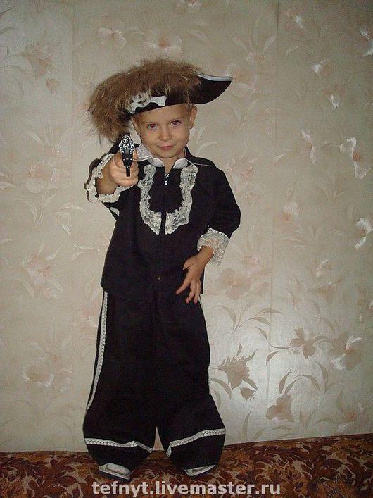 Детские карнавальные костюмы ручной работы. Ярмарка Мастеров - ручная работа. Купить Пират. Handmade. Пират