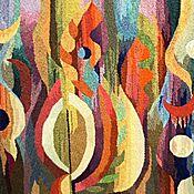 Картины и панно ручной работы. Ярмарка Мастеров - ручная работа Гобелен.Сказка осеннего леса.. Handmade.