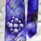 Аксессуары ручной работы. Ярмарка Мастеров - ручная работа Галстук Химику. Handmade.