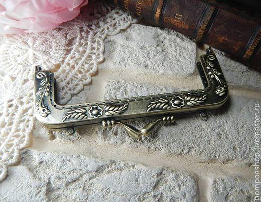 Другие виды рукоделия ручной работы. Ярмарка Мастеров - ручная работа. Купить Фермуар пришивной 12см. Handmade. Фермуар