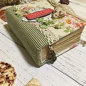 Блокноты ручной работы. Ярмарка Мастеров - ручная работа Блокнот ручной работы А7. Handmade.