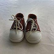 Одежда для кукол ручной работы. Ярмарка Мастеров - ручная работа Обувь для Паолы. Кроссовки. Handmade.