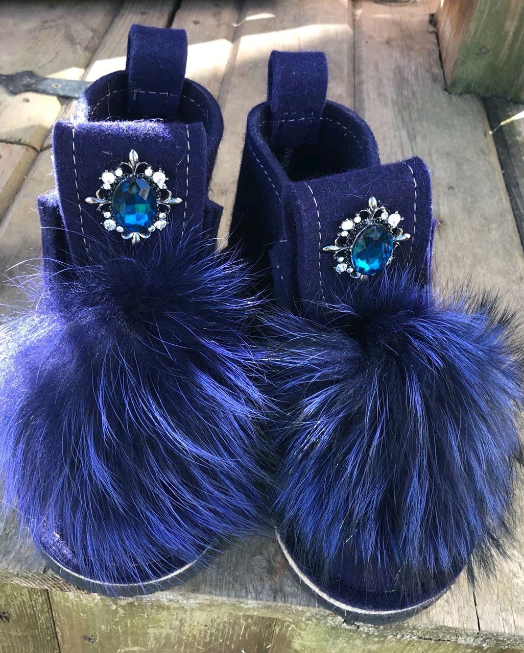 Обувь ручной работы. Ярмарка Мастеров - ручная работа. Купить Валенки короткие с декором. Handmade. Валенки, валенки для улицы