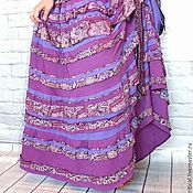 Одежда handmade. Livemaster - original item Warm knit boho-skirt