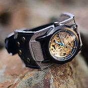 ручной работы. Ярмарка Мастеров - ручная работа Наручные часы Batman, механические. Handmade.