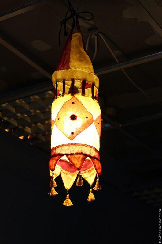 Освещение ручной работы. Ярмарка Мастеров - ручная работа. Купить индийский фонарик. Handmade. Разноцветный, интерьер детской, индийский фонарик