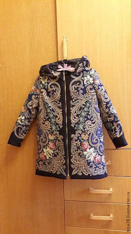 Одежда для девочек, ручной работы. Ярмарка Мастеров - ручная работа. Купить Пальто Детское ,,Незнакомка,,. Handmade. Цветочный, пальто для девочки
