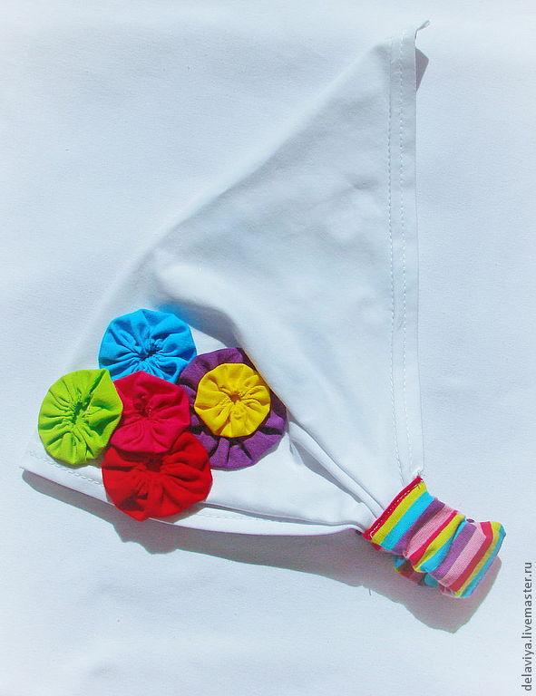 Сшить повязку для девочки своими руками