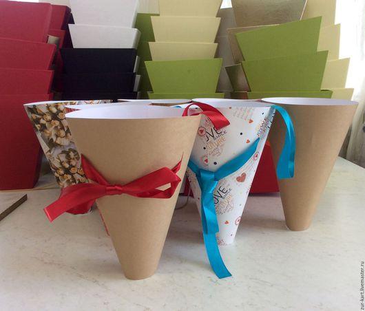 Интерьерные композиции ручной работы. Ярмарка Мастеров - ручная работа. Купить Пакеты для цветов. Handmade. Пакеты для цветов, упаковка, КОНУСЫ